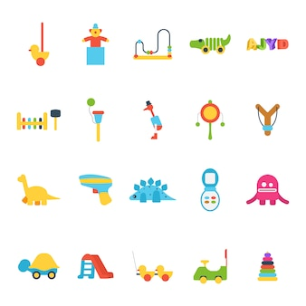 Toys illustrations collection