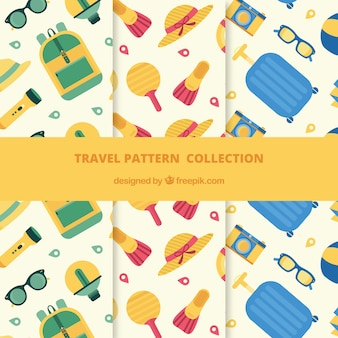Travel elements pattern collection