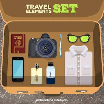 Travel elements set