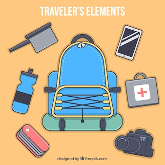 Traveler objects collection