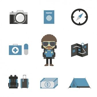 Travelling elements design