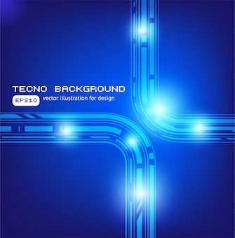Trendy light background bend clean