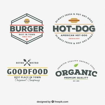 Trendy restaurant logos