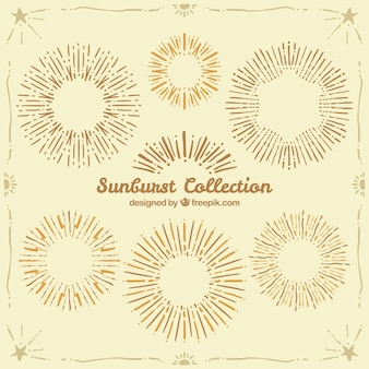 Trendy sunburst collection