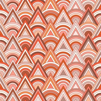 三角形と丸型パターン