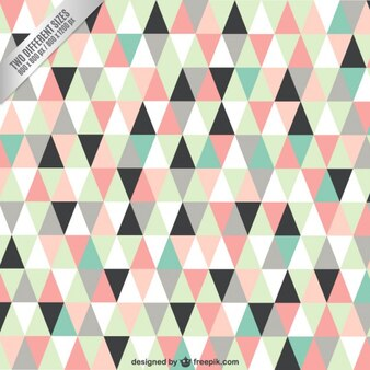 Triangles background in pastel colors