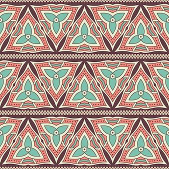 Triangular ethnic pattern