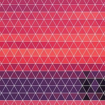 Triangular shapes background