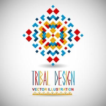 Tribal background design