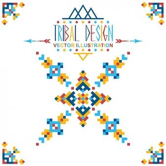 Tribal shape design