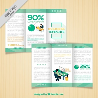 Trifold Business Template