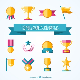 Trophies and awards collection
