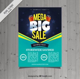 Turquoise sale flyer