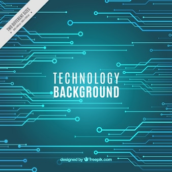 Turquoise technology background