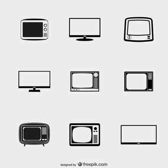 TV icons pack