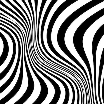 Twirled stripes zebra skin pattern