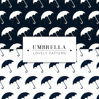 Umbrellas pattern design