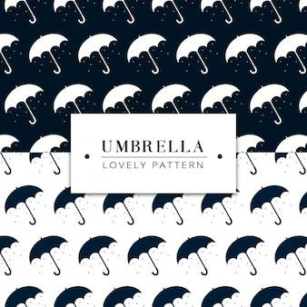 Umbrellas pattern design