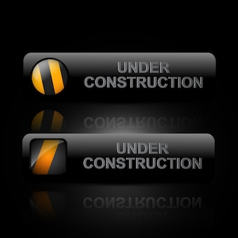 Under construction buttons