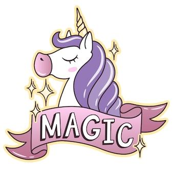 Unicorn background design