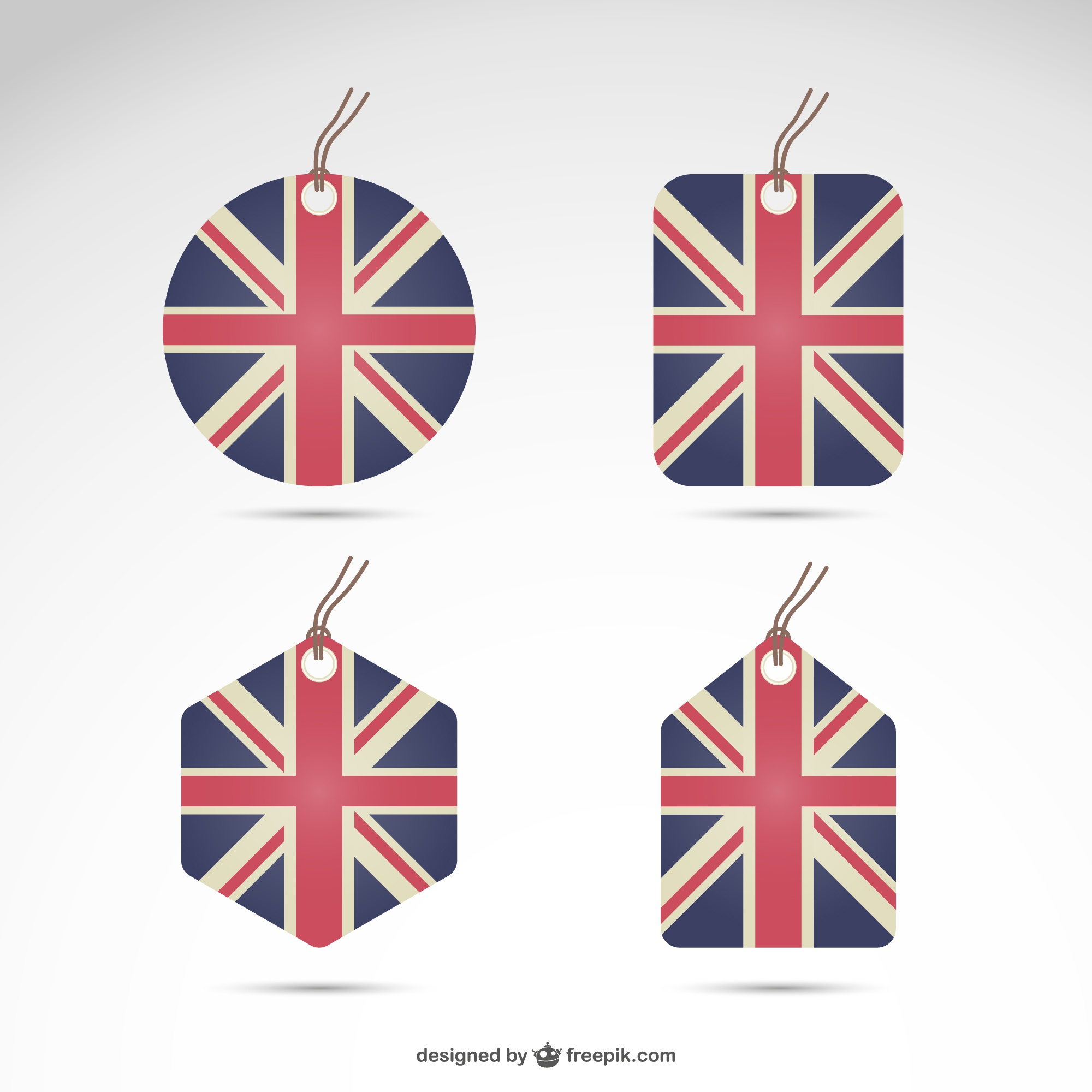 United Kingdom flag set