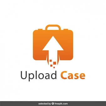 Upload case logo