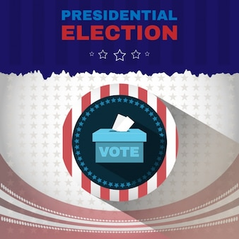 Usa election background design