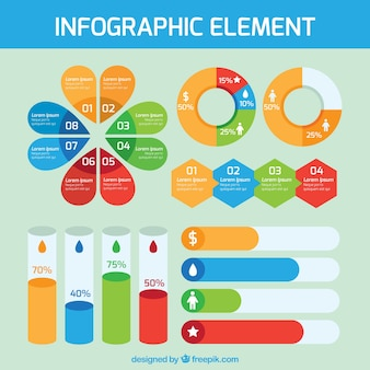 Useful elements ready for infographics
