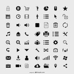 Useful web icons collection