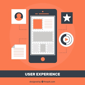 User experience with mobile