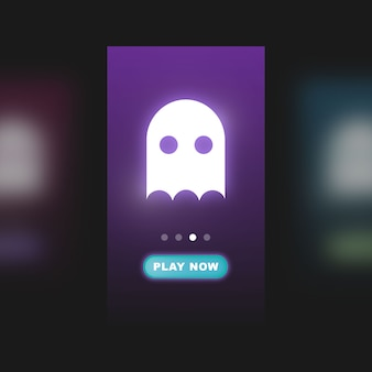 User interface for mobile game