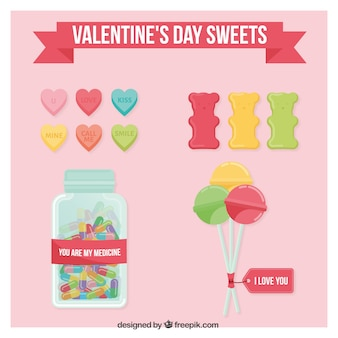 Valentine day sweets