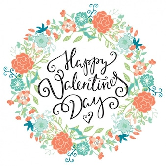 Valentine's background design