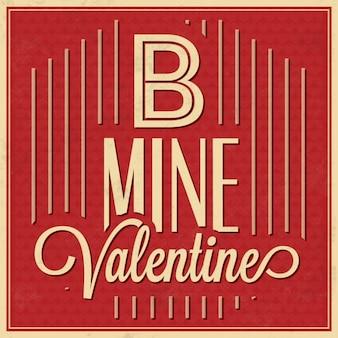 Valentine's background design