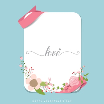 Valentine's card design
