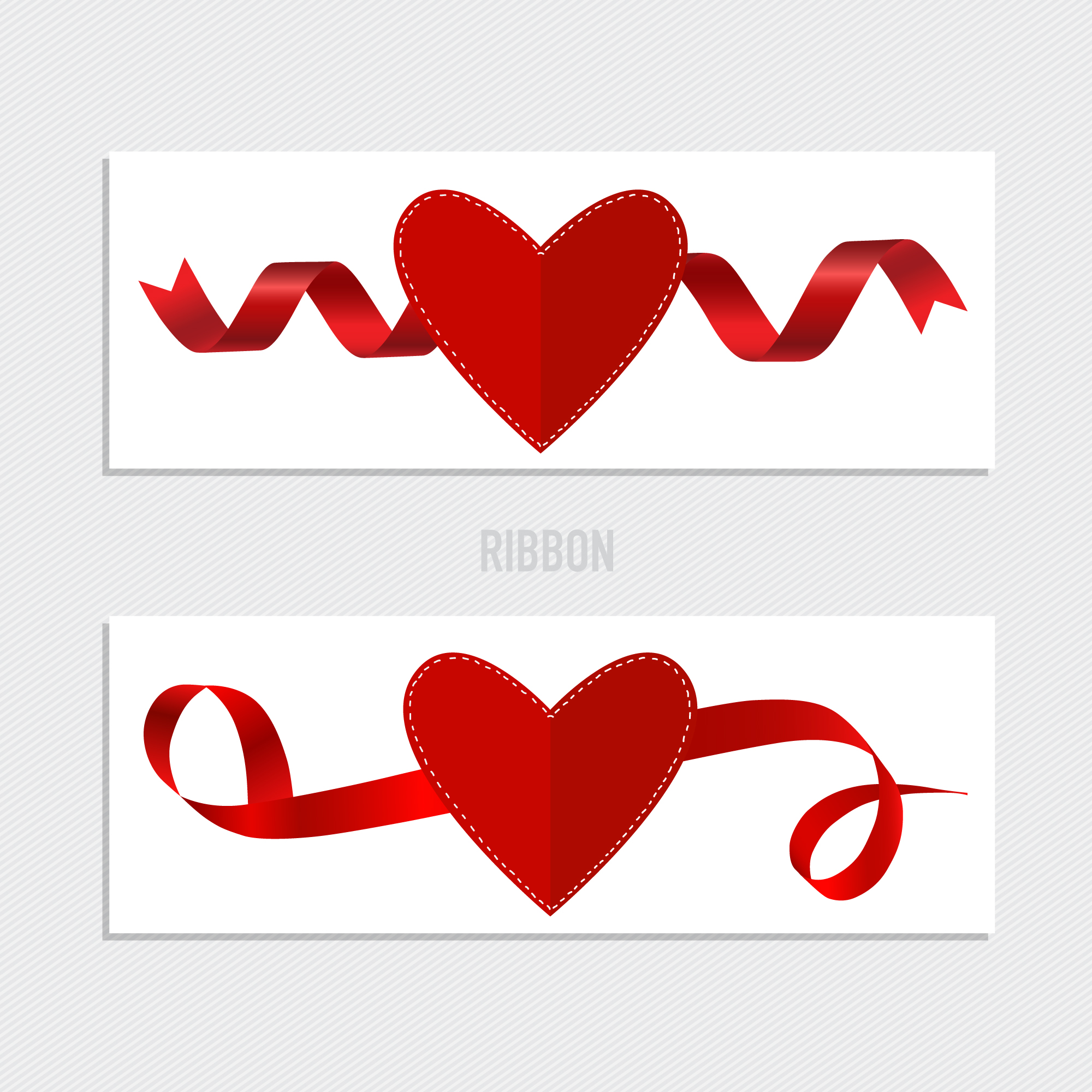 Valentine's ribbons collection
