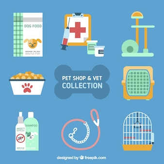 Variety of accessories for animals