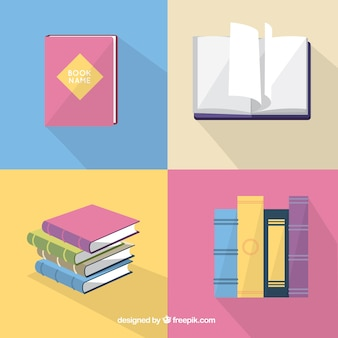 Variety of cute books