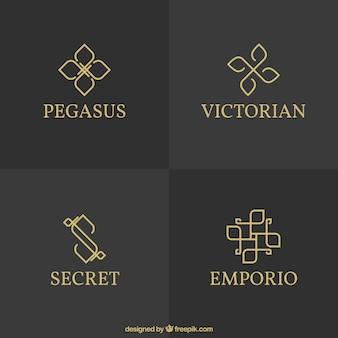 Variety of elegant logos