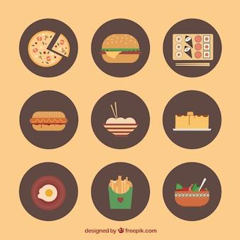 食品のバラエティ
