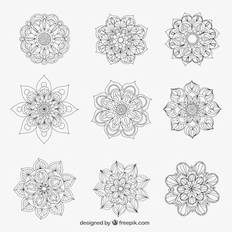 Variety of mandalas