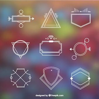 Variety of modern logos