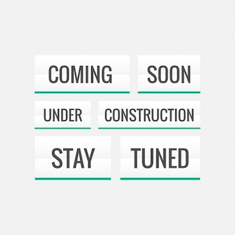 Variety of texts  coming soon  and  under construction