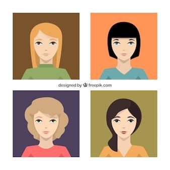 Variety of women