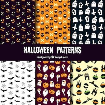 様々なハロウィーンのパターン