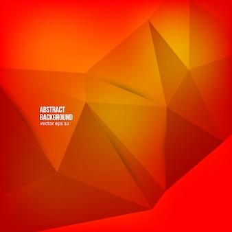Vector abstract background. Origami geometric