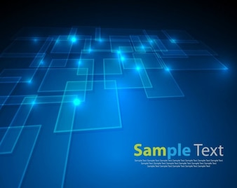 vector abstract blue background