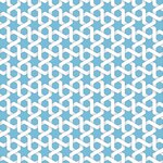 Vector abstract geometric islamic background Based on ethnic muslim ornaments Intertwined paper stripes Elegant background for cards, invitations etc