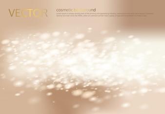 ベクトルシルバーの輝き、スパンコールと抽象的なライトベージュの背景。