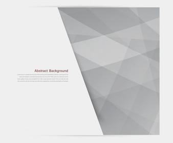Vector banner background. White line